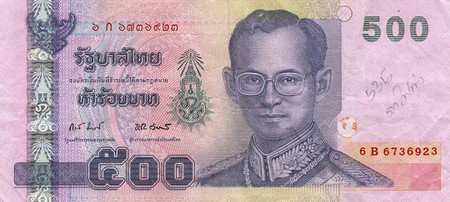 Making Money Recognizing Patterns by What You See in Person, and Trusting That- Why I am Shorting the Thai Baht