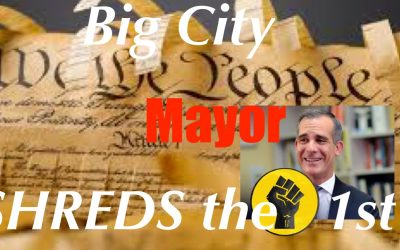 LA Mayor Garcetti SHREDS 1st Amendment, Threatens to Turn off Water + Power if you Have a Party