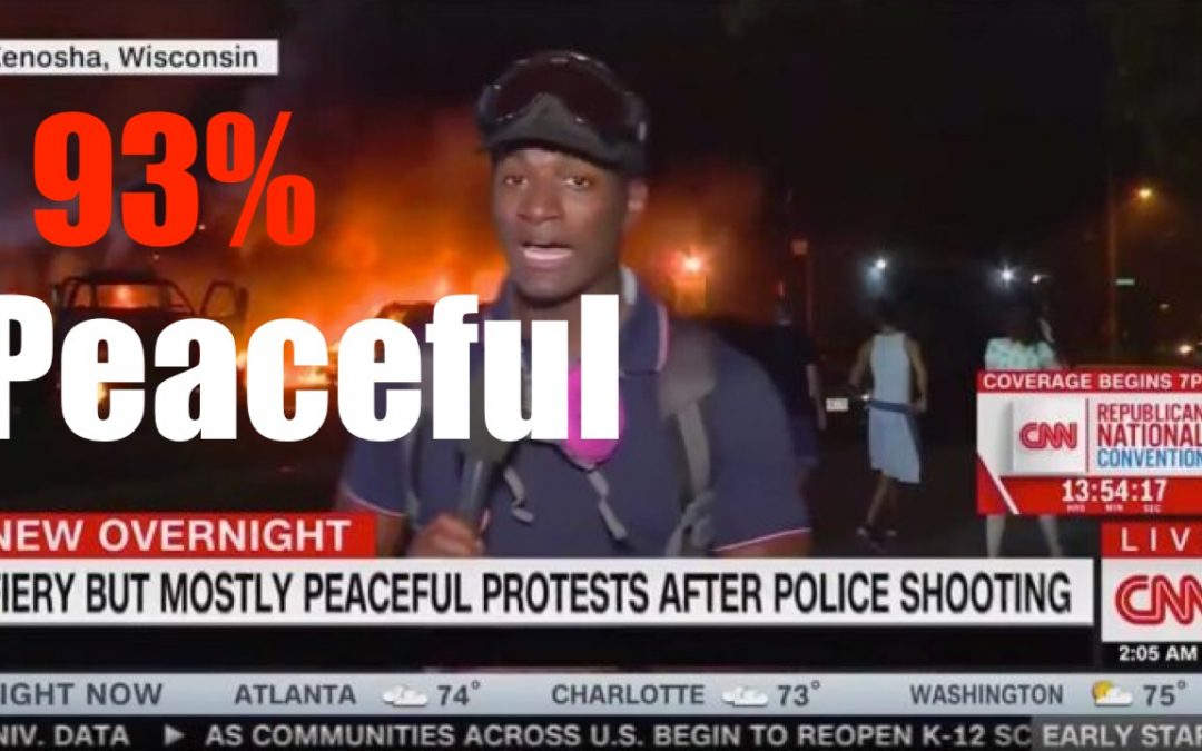 Mostly Peaceful Riots for 100 Straight Days- Violent Peace