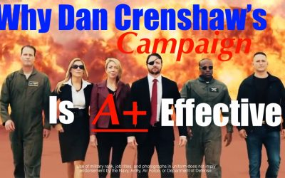 Dan Crenshaw + Texas Republicans Release Most Awesome + Effective Campaign Ad of All Time!