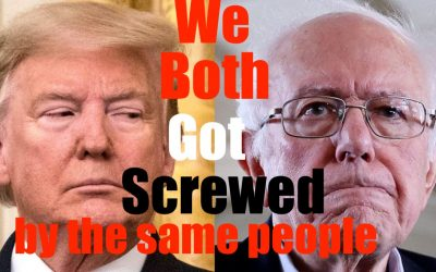 What Do Bernie + Donald Trump Have in Common?? They Both got SCREWED by the SAME People