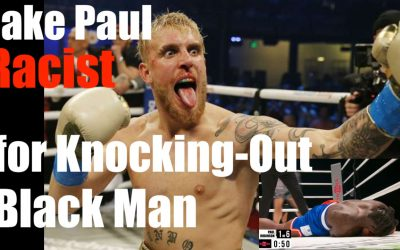Jake Paul Called Racist for Knocking OUT Nate Robinson (Black Man)
