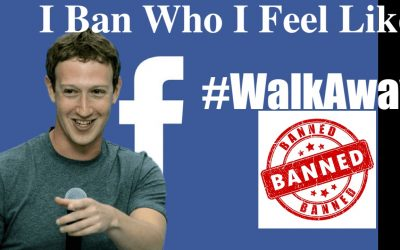 Ron Paul Suspended from FaceBook for Criticizing Censorship. Free Speech Hit Again