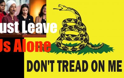Don't Tread on Me  Leftists Demand you Swallow their Paradigm  Just LEAVE ME ALONE