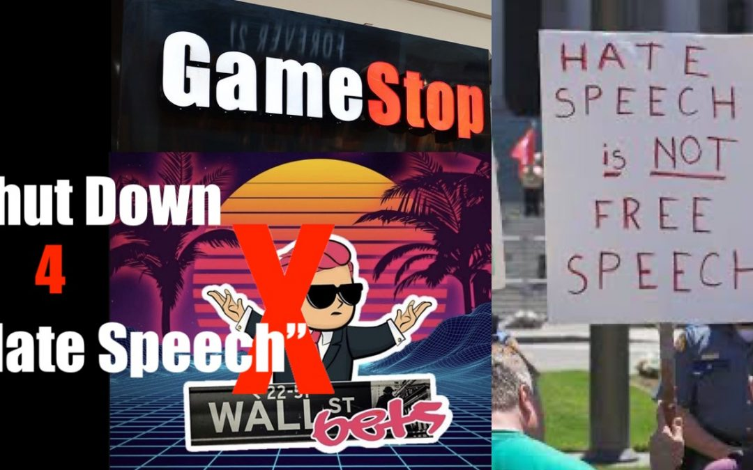 """Powers That Be Shutdown r/WallStreetBets ($GME) Server Over """"Hate Speech"""""""