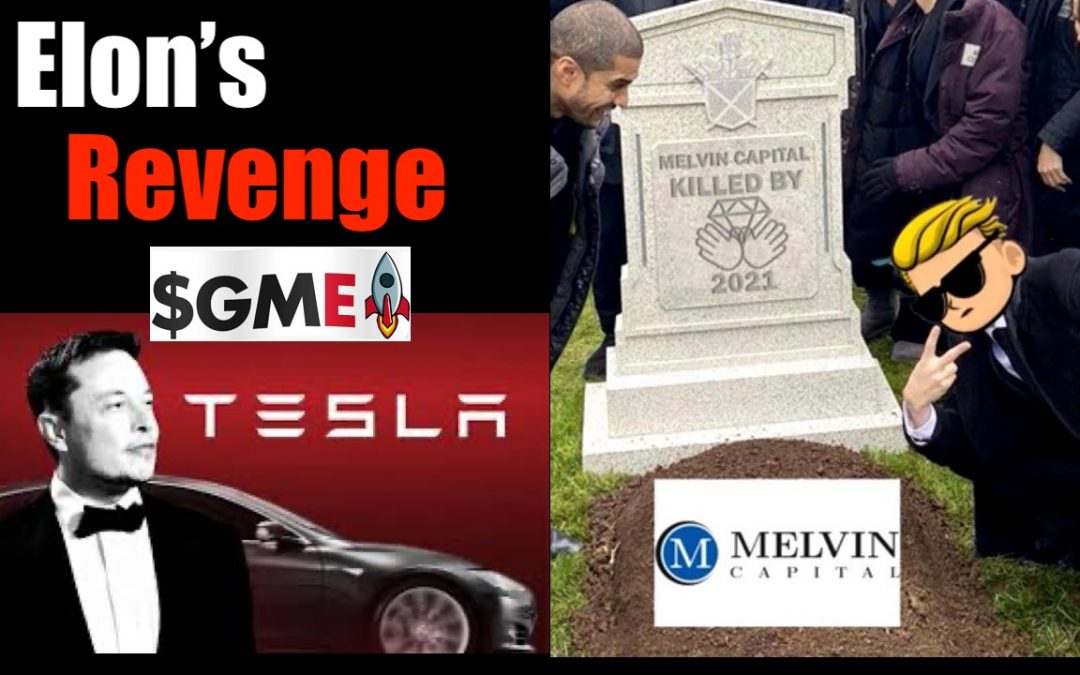 How Hedge Funds Nearly DestroYed Tesla; + was Game Stop Insurrection ($GME) a Success?