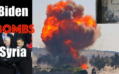 America BACK AT WAR as Biden Bombs Syria (1 month into Presidency)