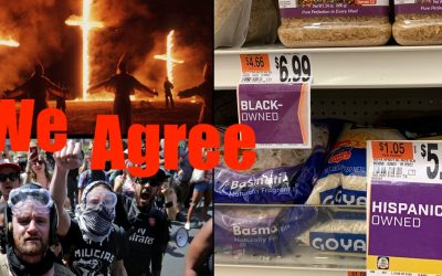 "Antifa + KKK Applaud Racist Grocery Store Together — ""Black Owned"""