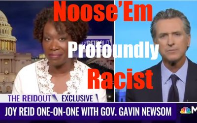 Gavin Noose 'em is a Profound Racist — Time to MAKE FUN of Him