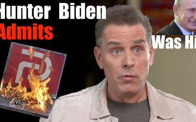 Hunter Biden Admits Laptop WAS HIS