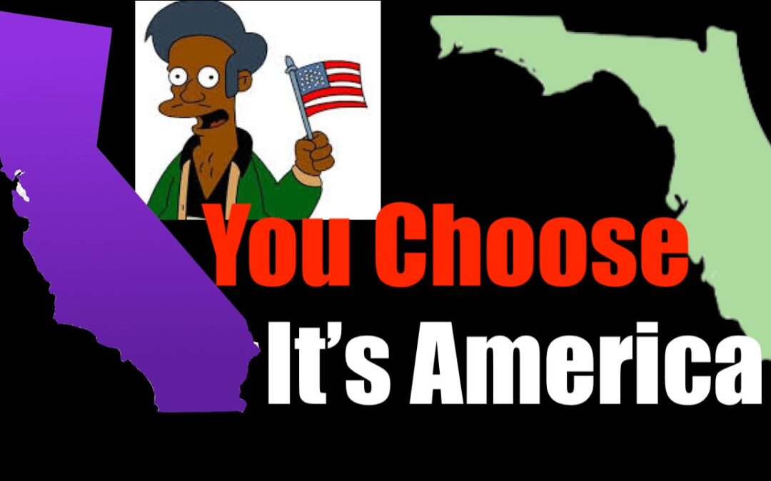 Citizens A-B Testing of States  — the Beauty of America