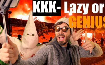 Is Today's KKK Super Lazy … or Pure Genius? (#Satire)