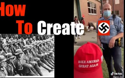 Policeman Threatens to Arrest MAGA hat Wearer Unless He Removes it — First Amendment Boiling