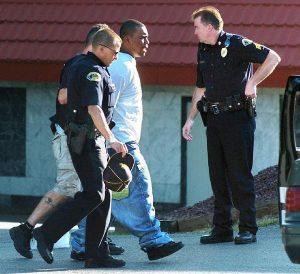police arrest drug dealer