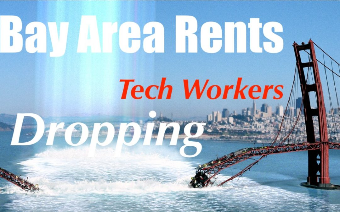 Rents Drop in Bay Area as Tech Workers Start Leaving California Amidst Rolling BlackOuts