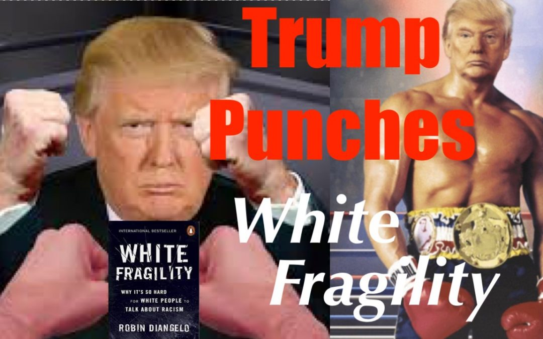 Donald Trump Smacks White Fragility in The Nose – APPLAUSE