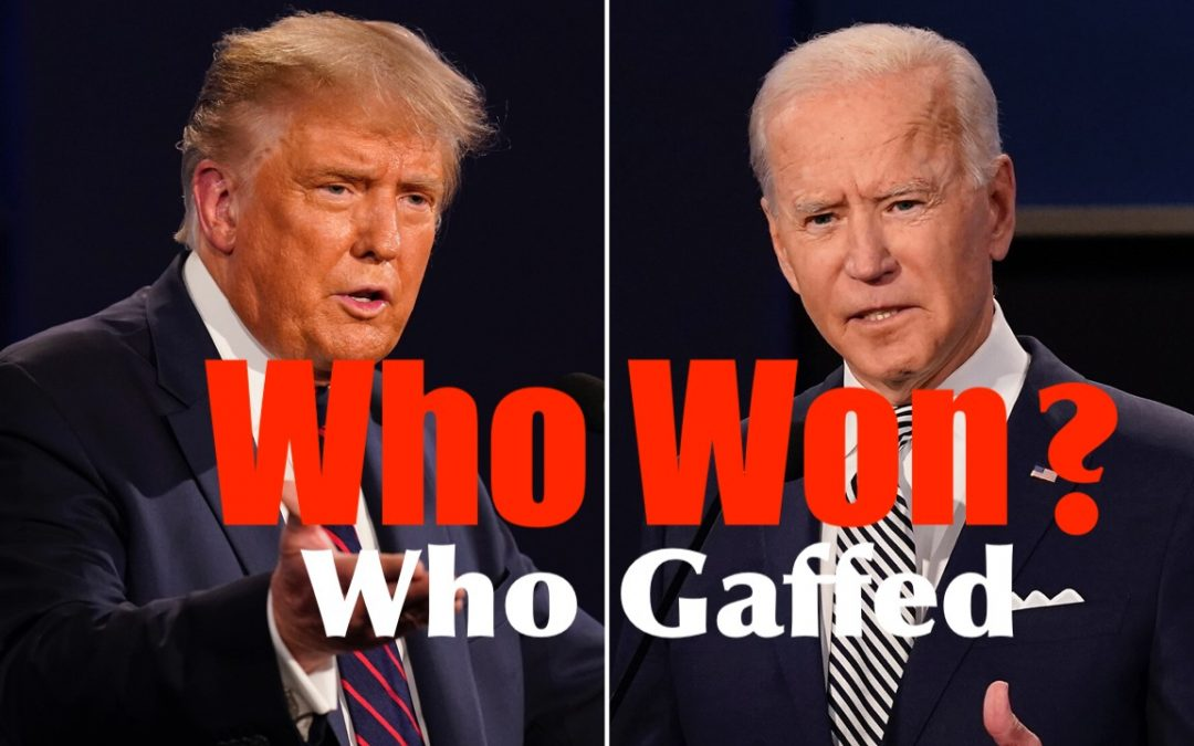 Who Won the Final Debate? Reaction + Key Points to Biden/ Trump Matchup Going Forward