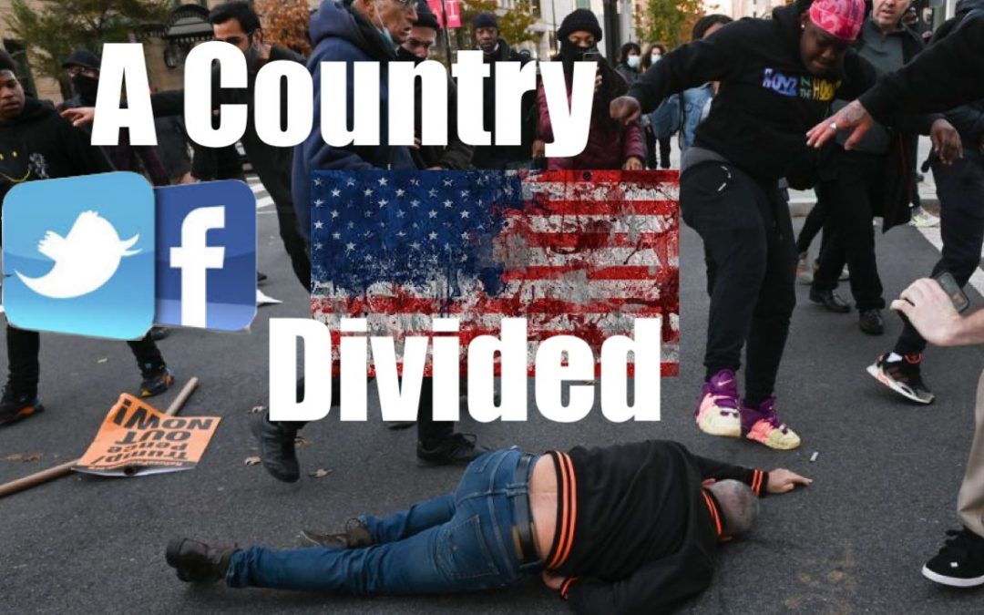 A Country Divided Cannot Stand- the Continued Intolerance + Polarization of America