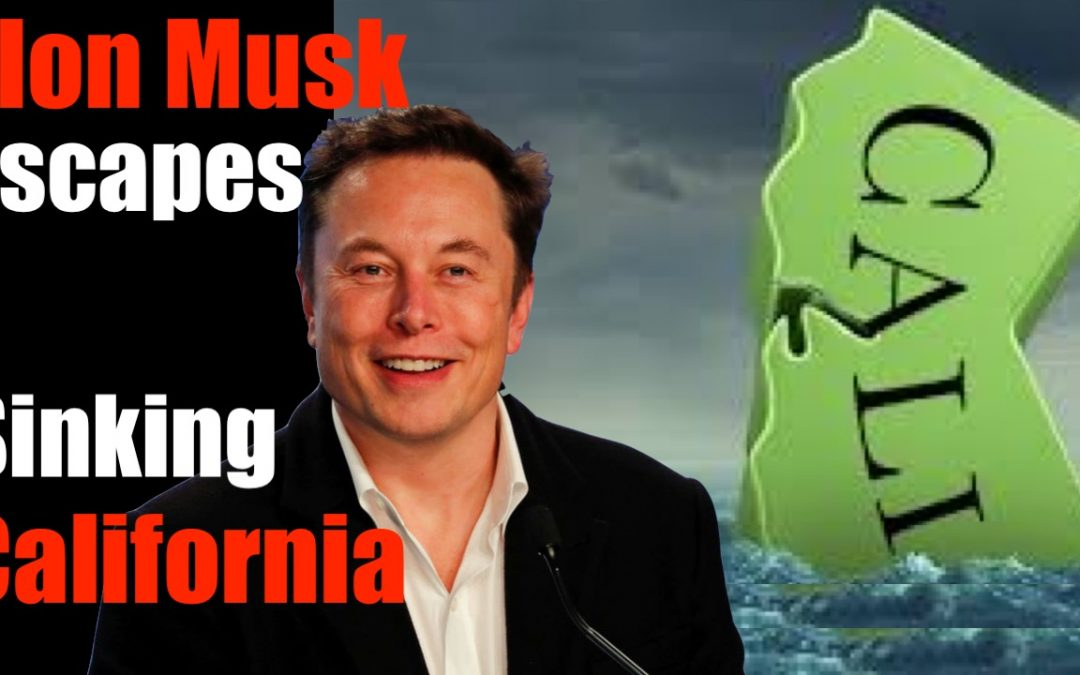 Smartest Man in World ABANDONS California — Scheduled to Fall into Pacific (CA Exodus)
