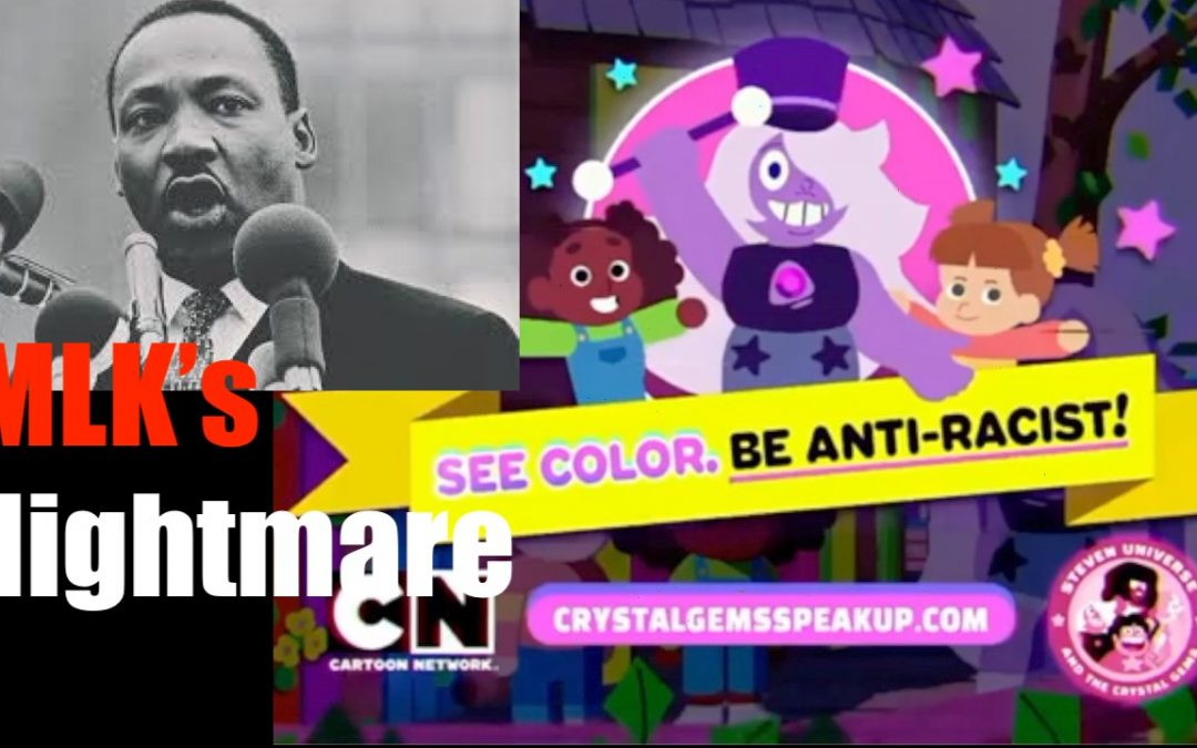 Cartoon Network Demands We SEE COLOR —  Destroys Martin Luther King Dream