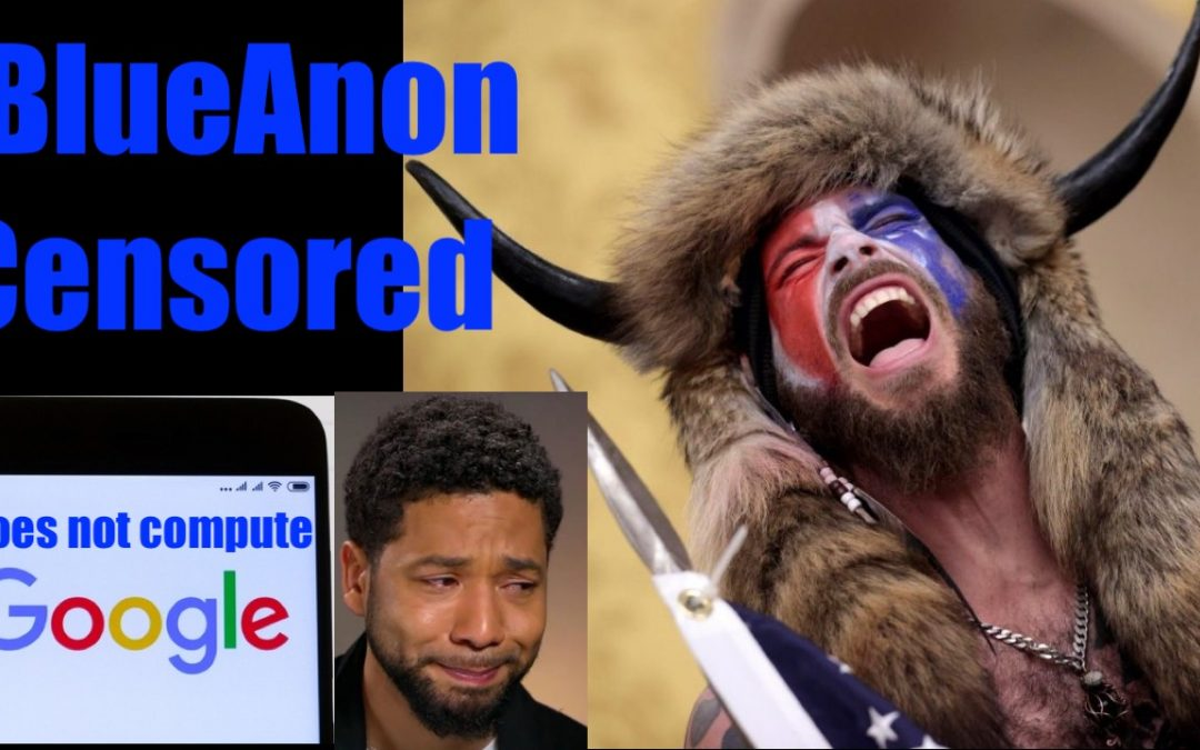 Ministry of Truth (Google) Suppresses #BlueAnon Meme (or They're Terrible at Search)