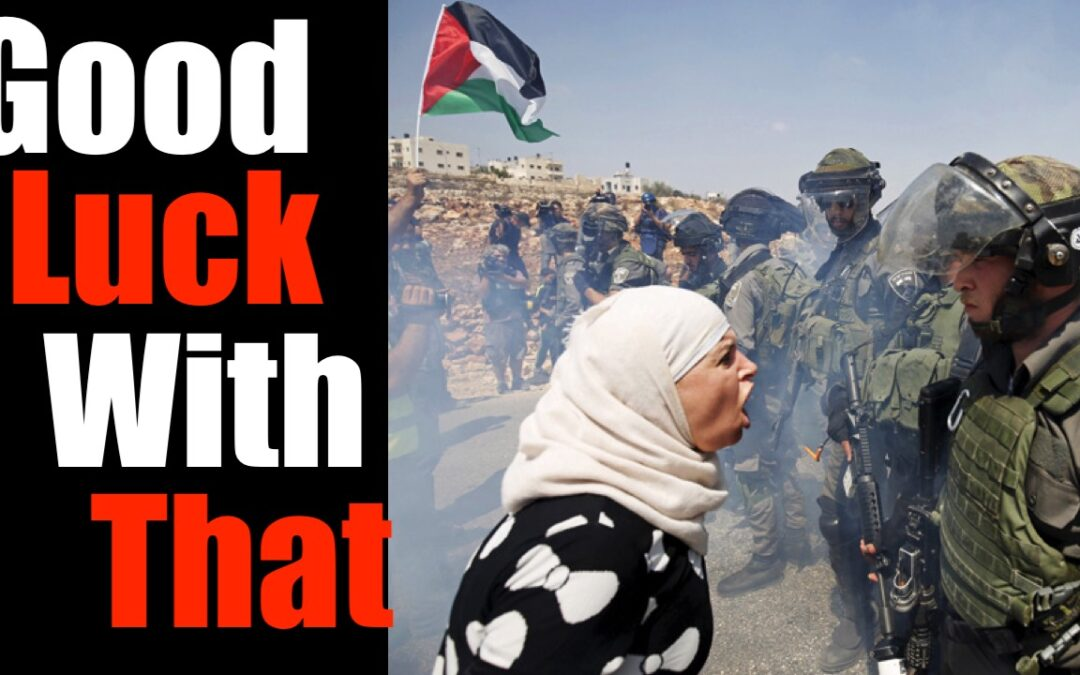 Help Me Understand how to Speak to a Leftist About Israeli / Palestinian Conflict- PLEASE