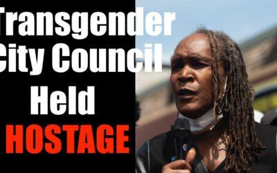 Black Trans Woman Held Hostage by BLM- Antifa TERRORISTS
