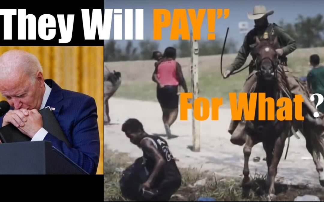 Joe Biden LIES About Border Patrol as he Attempts to Destroy America